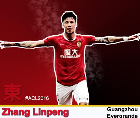 Zhang Linpeng - Gunagzhou Evergrande