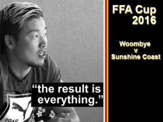 Shoichi Koshimizu of Sunshine Coast FC.