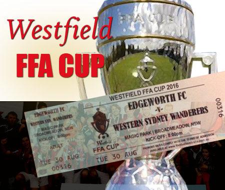 FFA Cup: Edgeworth FC v Western Sydney Wanderers